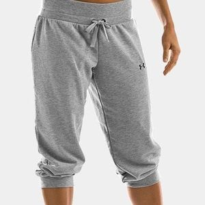 Under Armour varsity French capri sweat pants